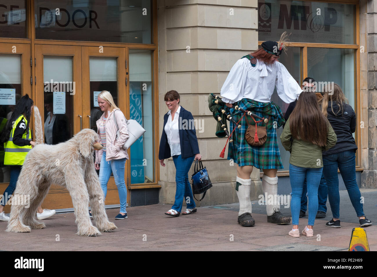 Merchant City Festival 2018, Glasgow, Scotland UK - Stock Image