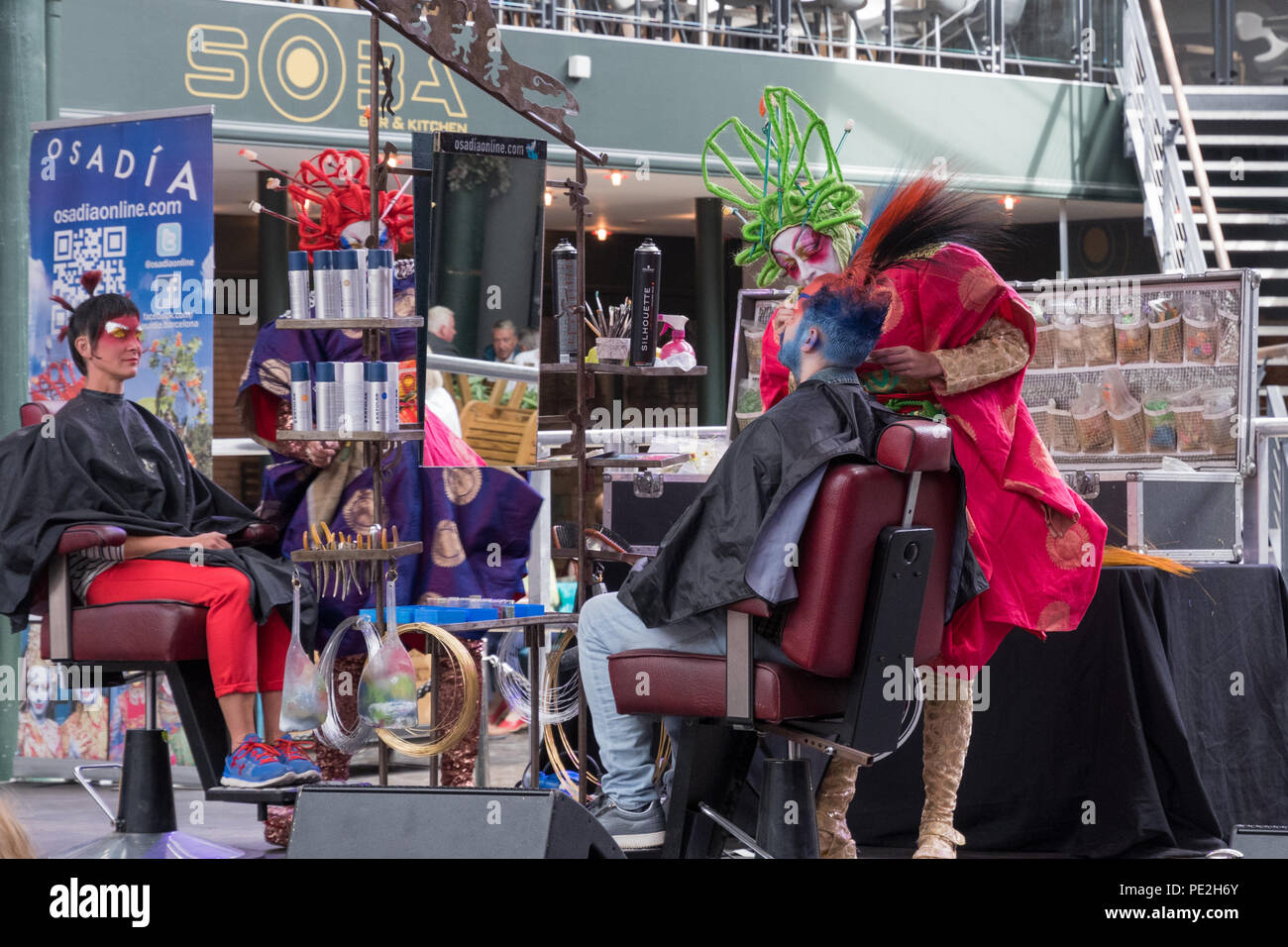 Merchant City Festival 2018, Glasgow, Scotland UK - Stock Image