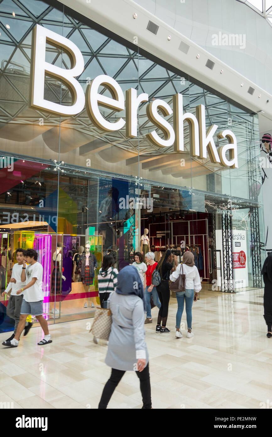 3b73ee06 Bershka fashion store, Westfield Shopping Centre, Ariel Way, White City,  London,