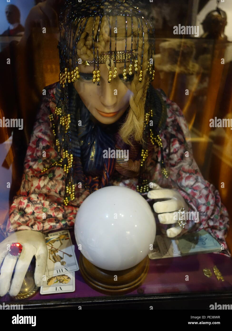 fortune telling gypsy - Stock Image