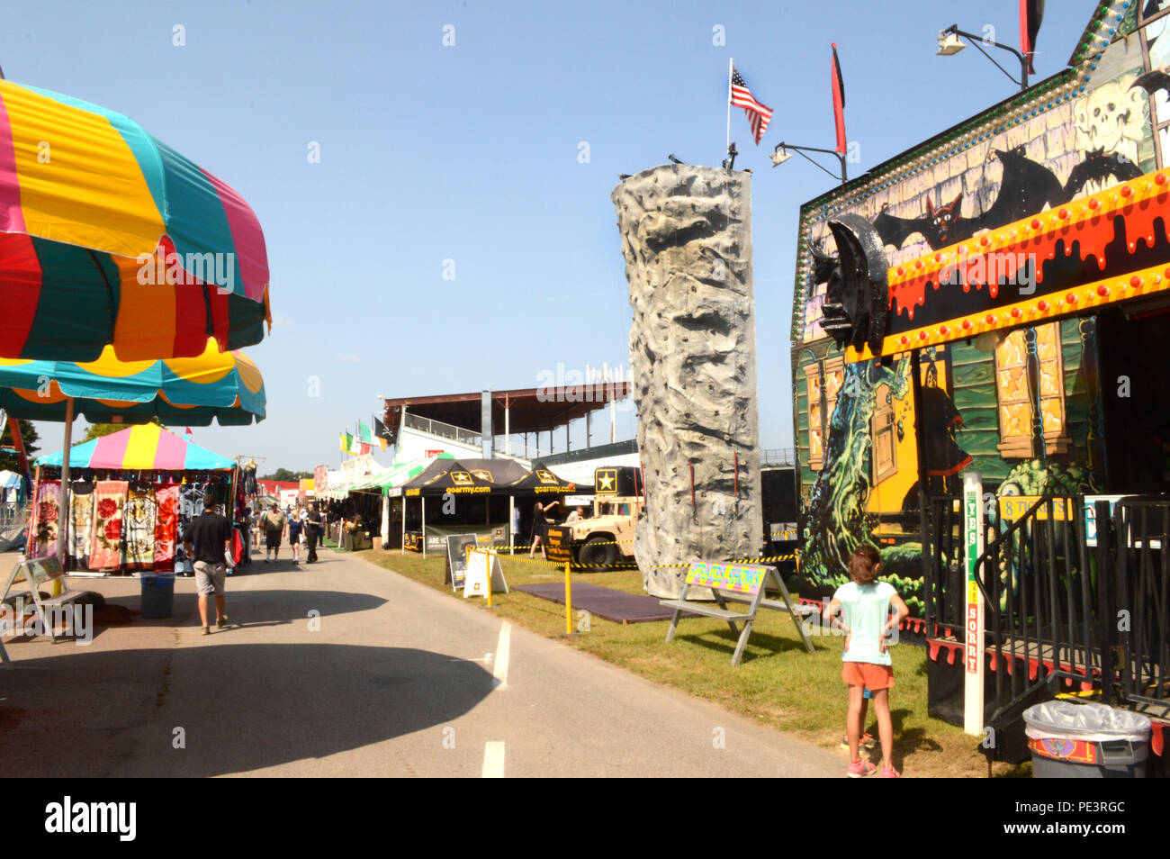 Champlain Valley Fair Stock Photos & Champlain Valley Fair