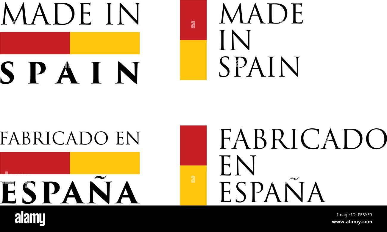 Simple Made in Spain / Fabricado en Espana spanish translation ...
