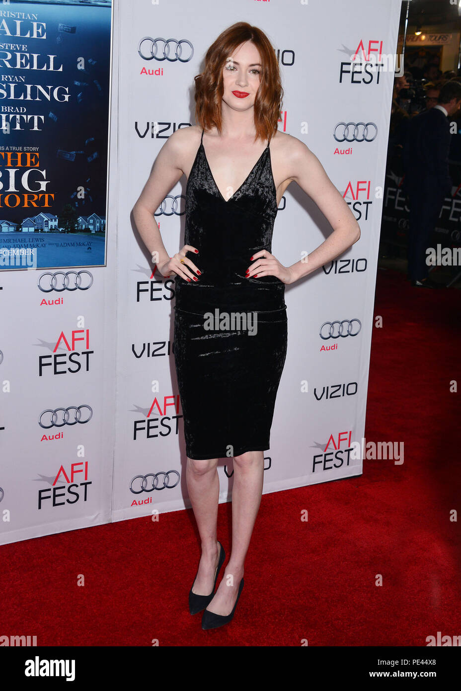 0e3c7abaadb1 Karen Gillan 056 at the Big Short Premiere at the TCL Chinese Theatre in Los  Angeles