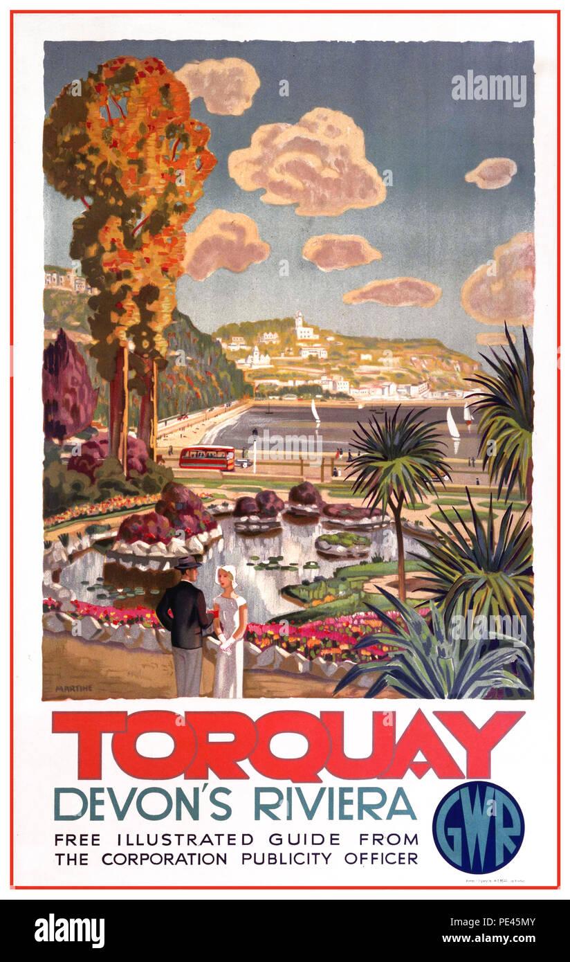 154 Vintage Railway Art Poster Falmouth