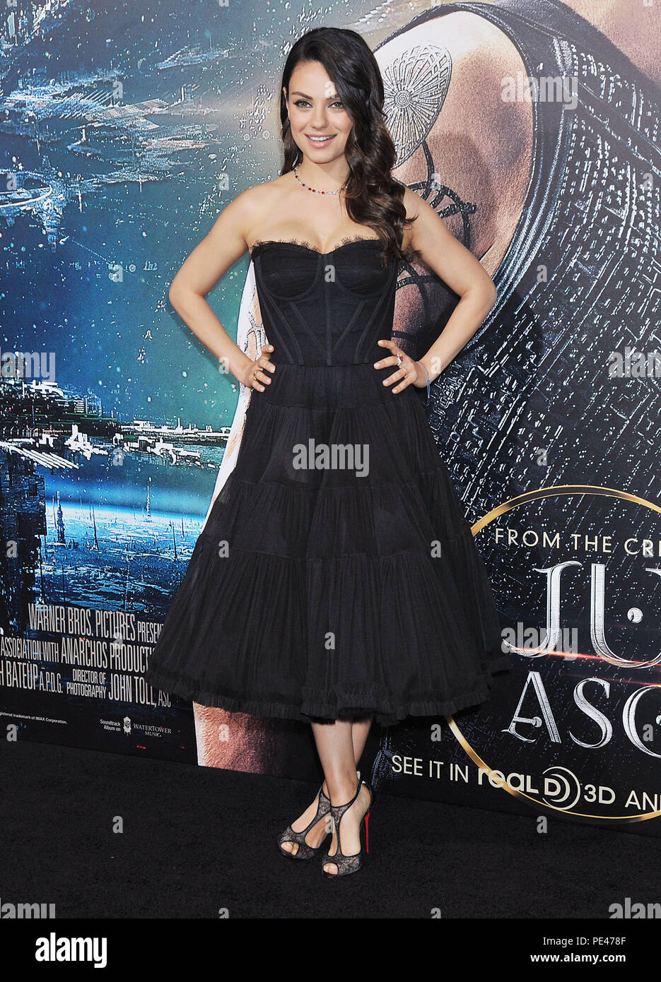 Mila Kunis at the Jupiter Ascending Premiere at the TCL