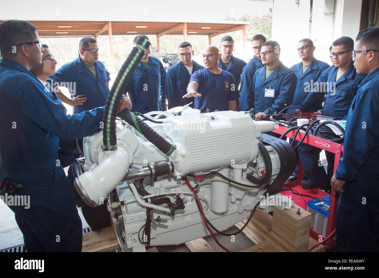 small diesel engine repair school