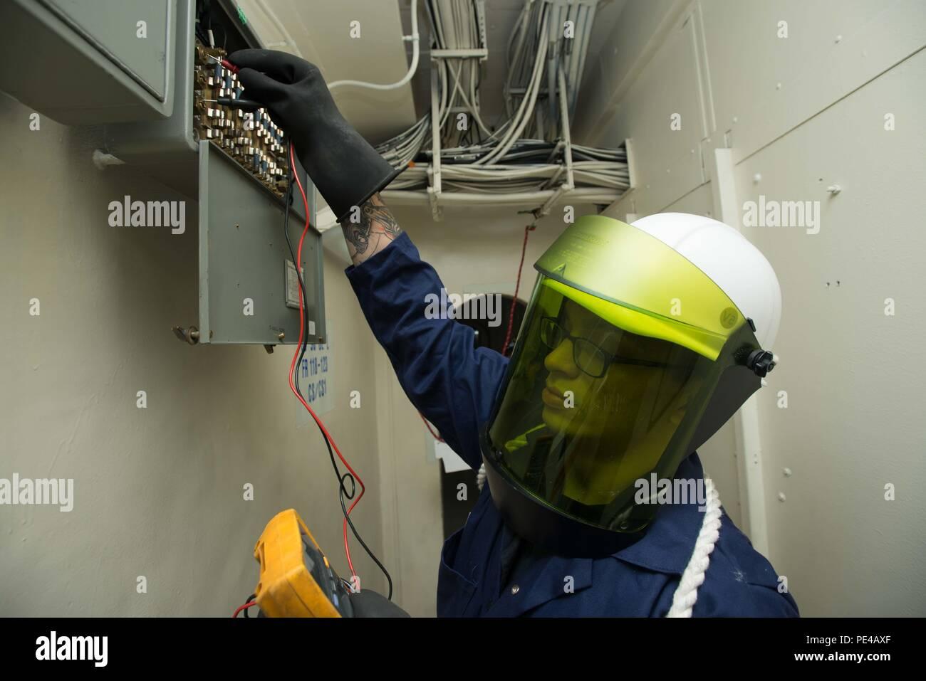 Navy Fuse Box on