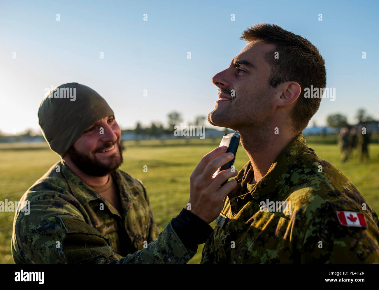 Images - Importance of shaving in the military