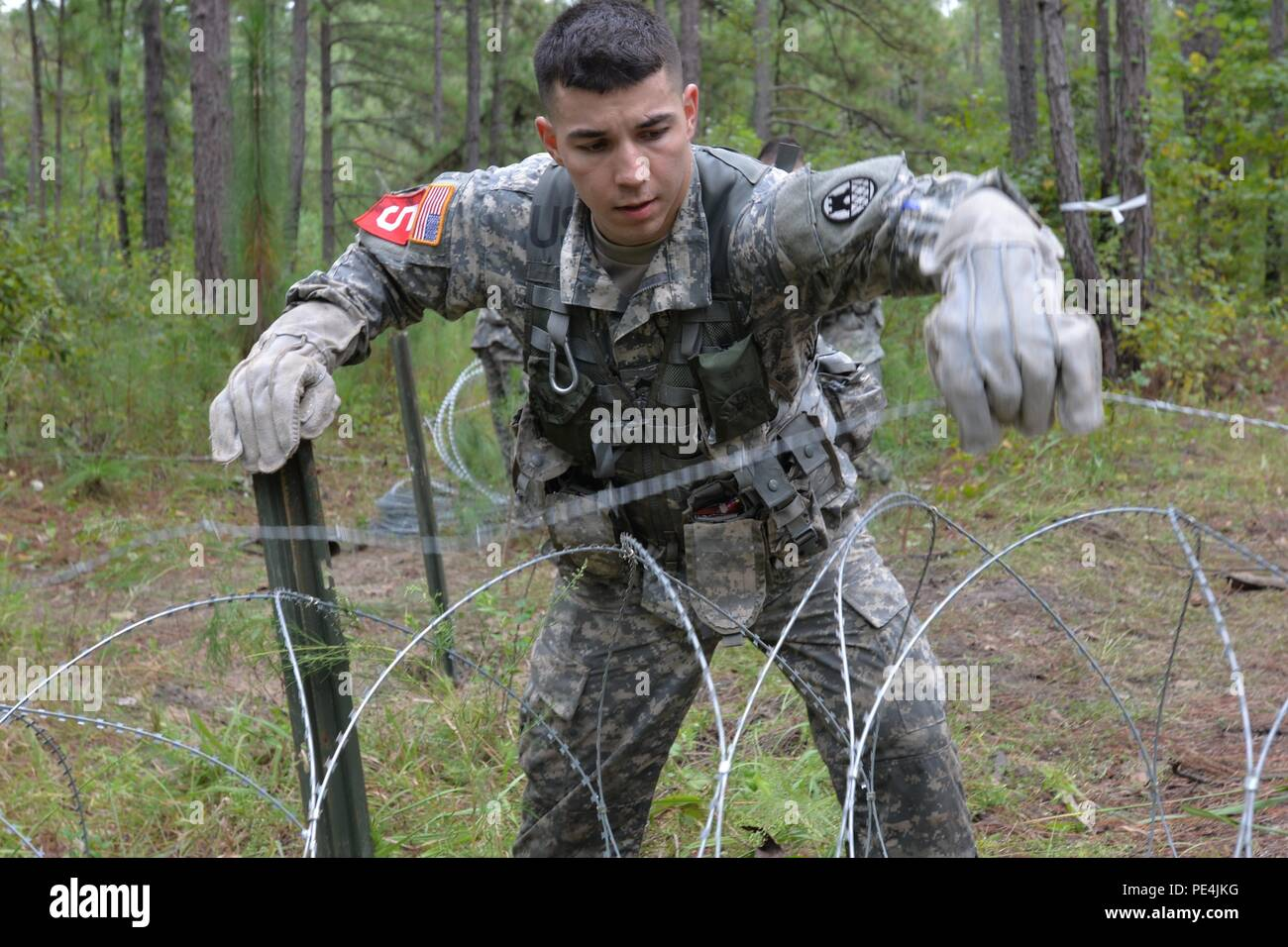 105th Engineer Battalion Stock Photos & 105th Engineer