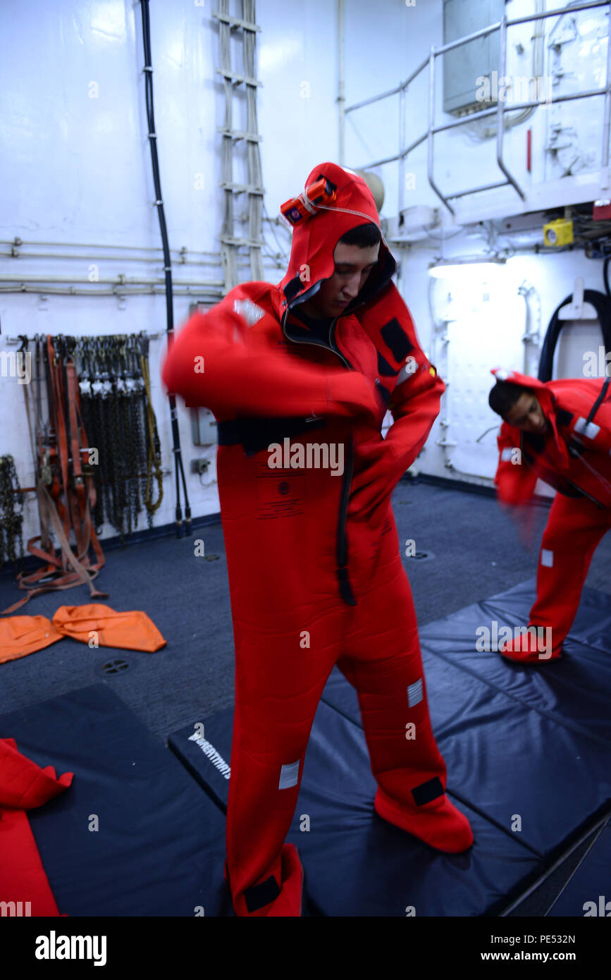 Immersion Suit Stock Photos & Immersion Suit Stock Images