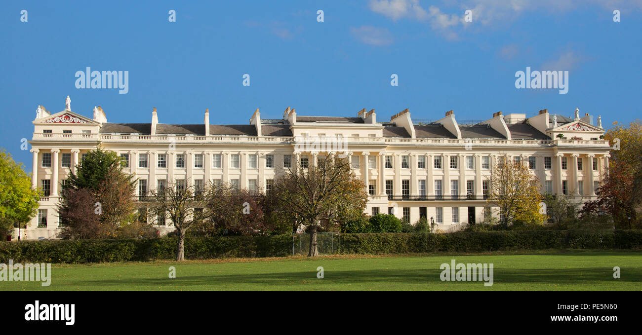 Cumberland Terrace designed by Sir John Nash1826 Regents Park London England Stock Photo