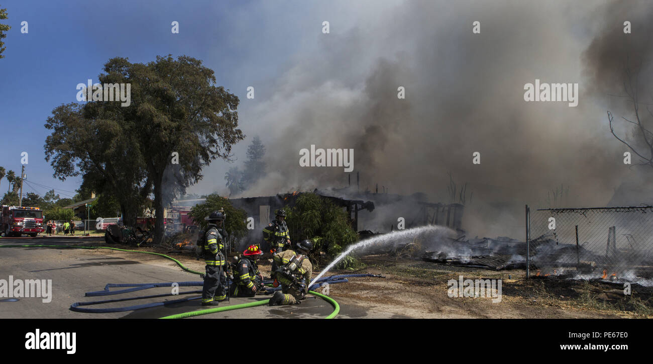 Modesto, California, U S A  12th Aug, 2018  Modesto Fire Department