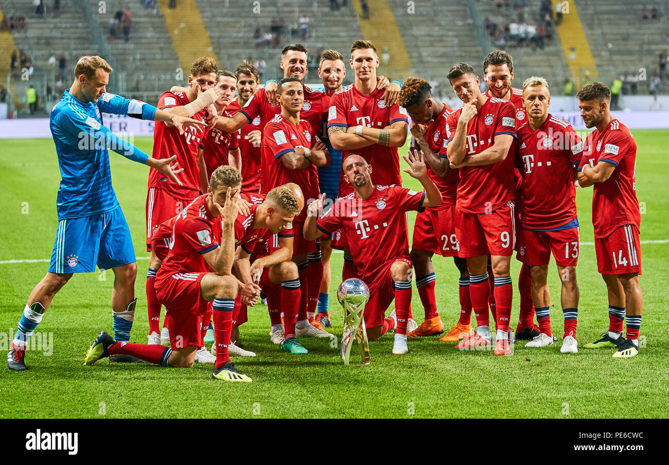 Fc Bayern Munich Team High Resolution Stock Photography and Images ...