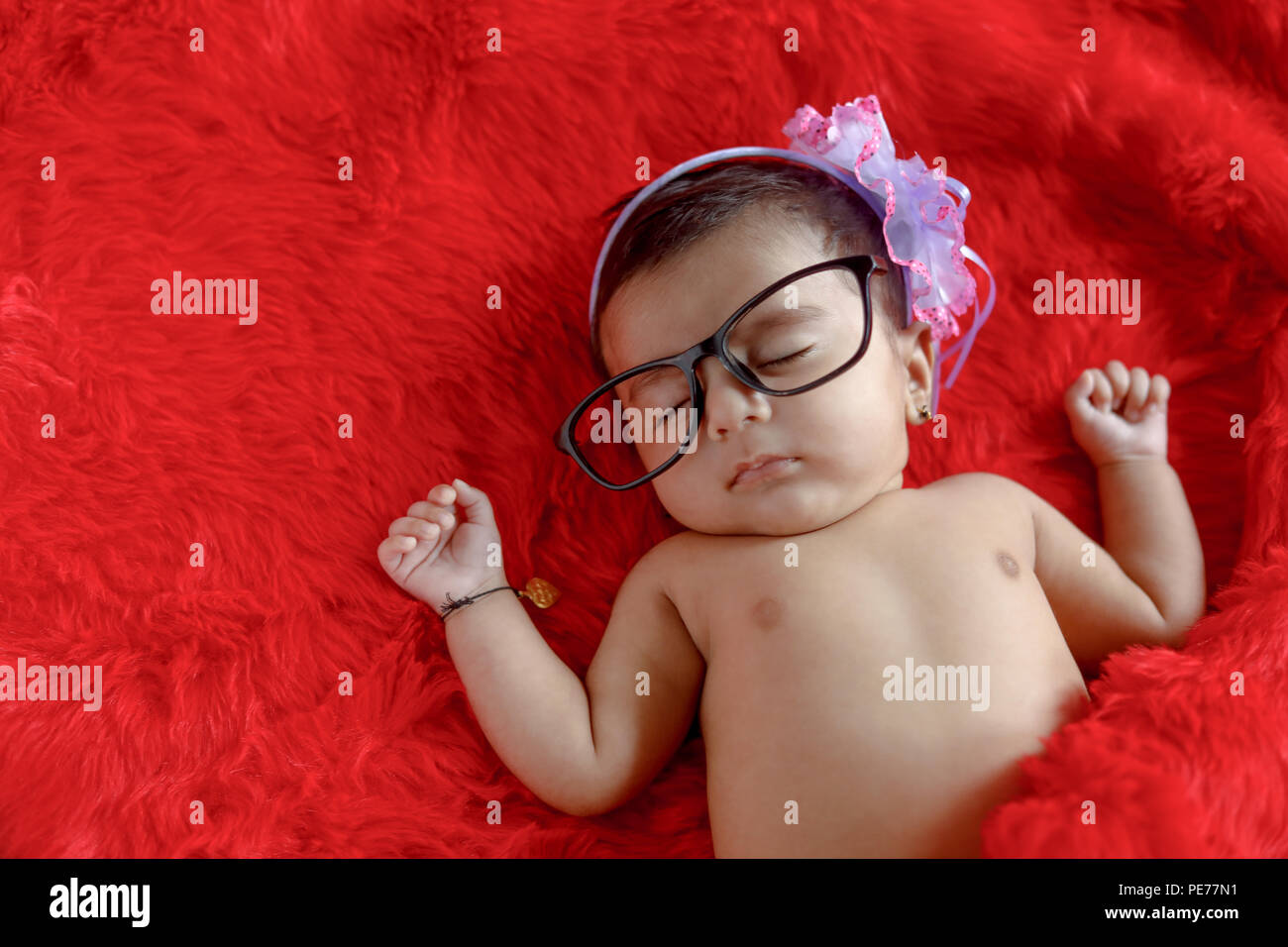 Newborn Indian Baby High Resolution Stock Photography And Images Alamy