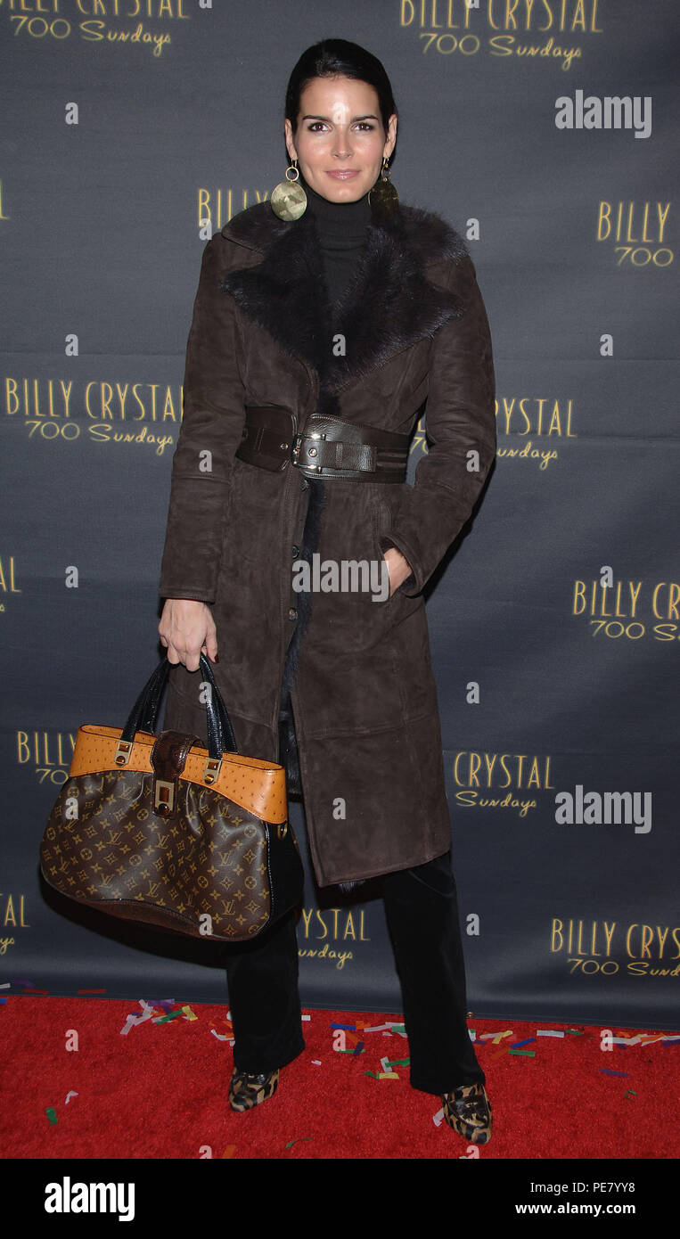 Angie Harmon Xnxx angie harmon arriving at the billy crystal opening night 700