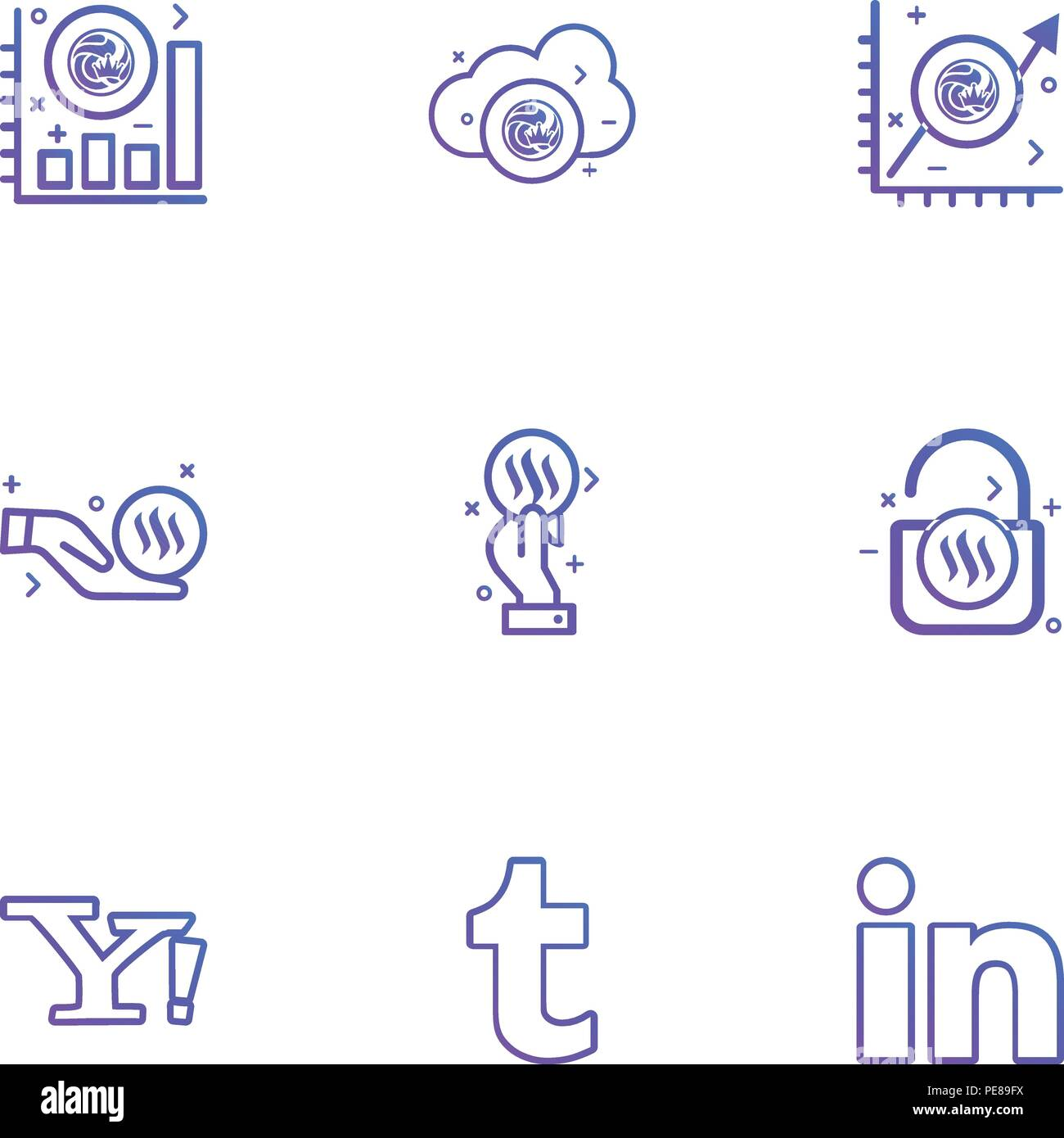 Yahoo Stock Vector Images Alamy