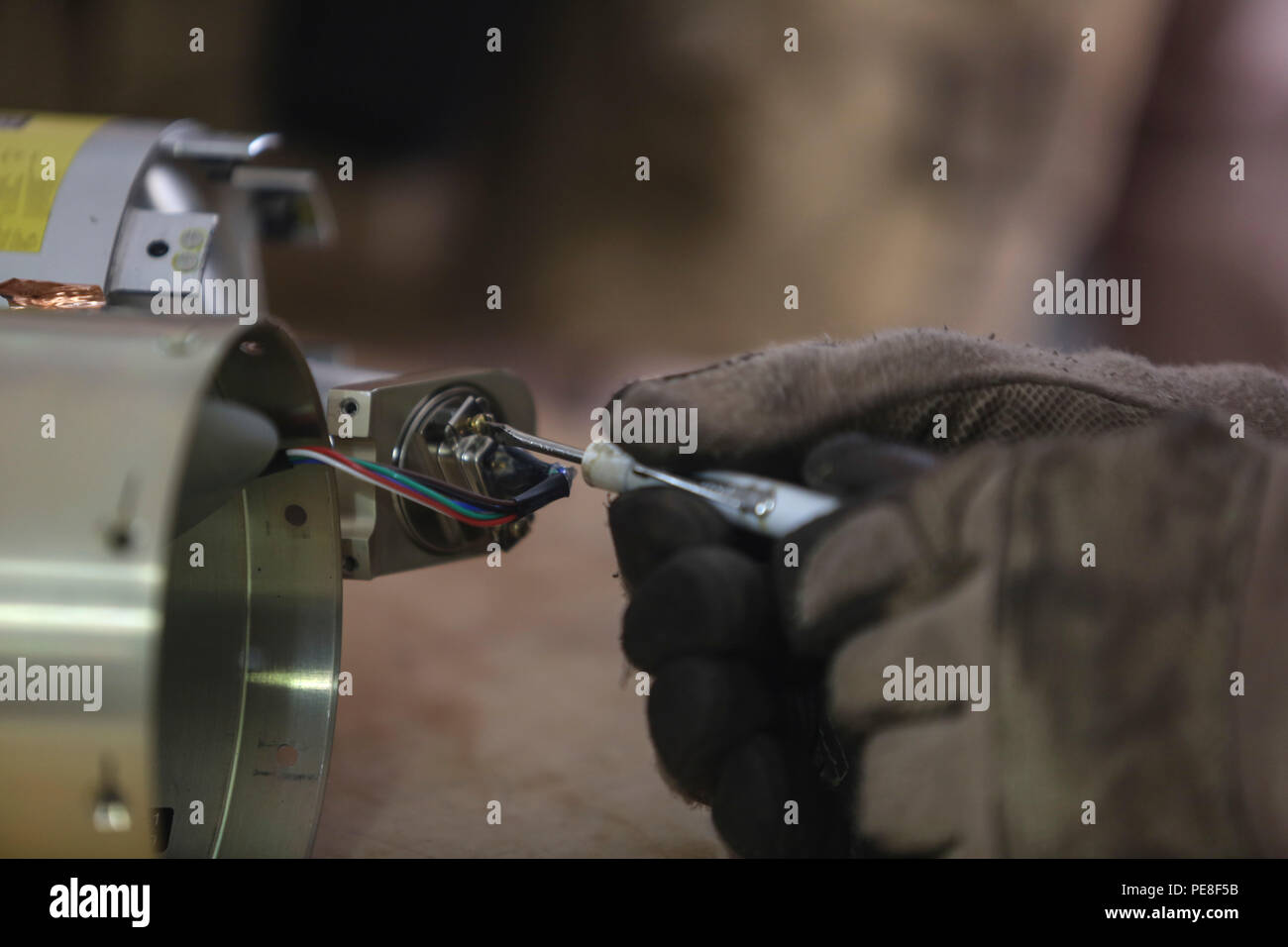 Wiring Harness Stock Photos Images Alamy Automotive Tools A Marine With Explosive Ordnance Disposal Company Uses Special Tool To Remove