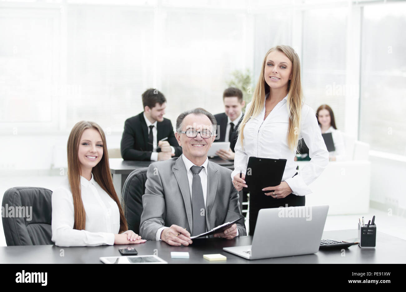 Office Assistants Stock Photos Office Assistants Stock Images Alamy