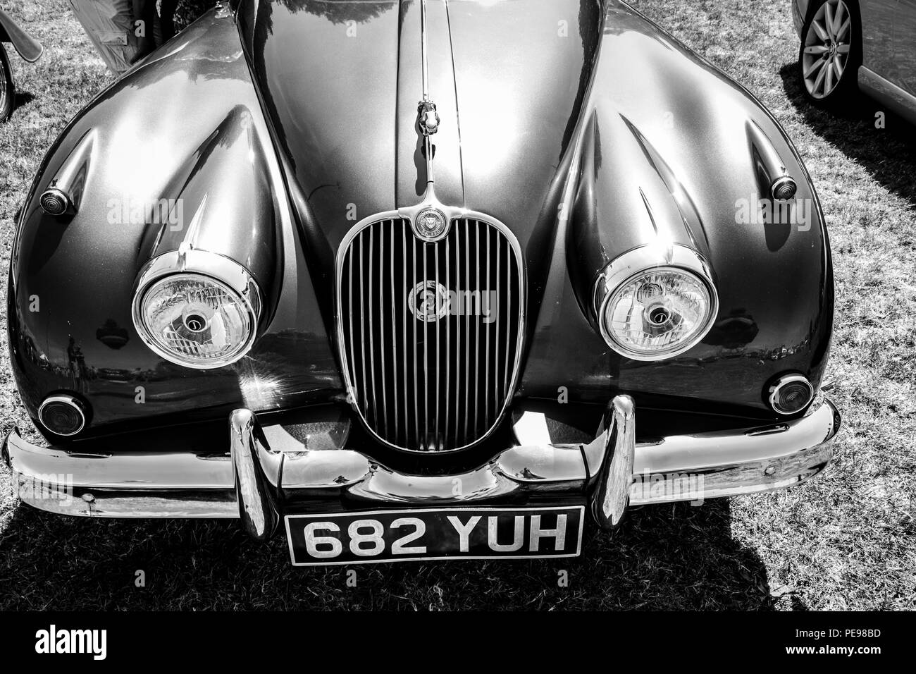classic car show porthcawl august 2012 - Stock Image