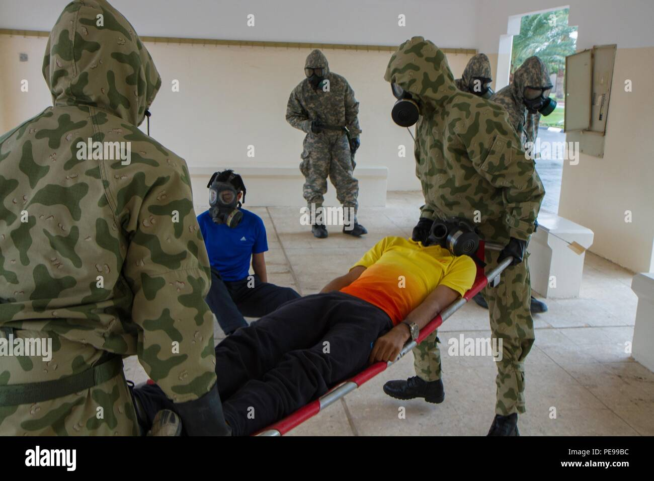 Chemical Threats >> Chemical Biological Radiological Nuclear Soldiers With 366th Cbrn