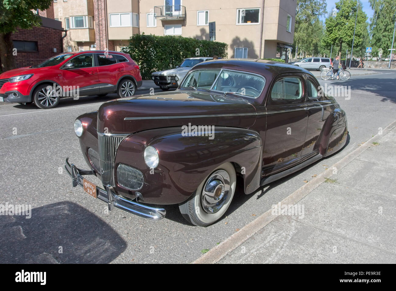 1941 Ford Stock Photos Images Alamy Truck Hot Rod Business Coupe Image