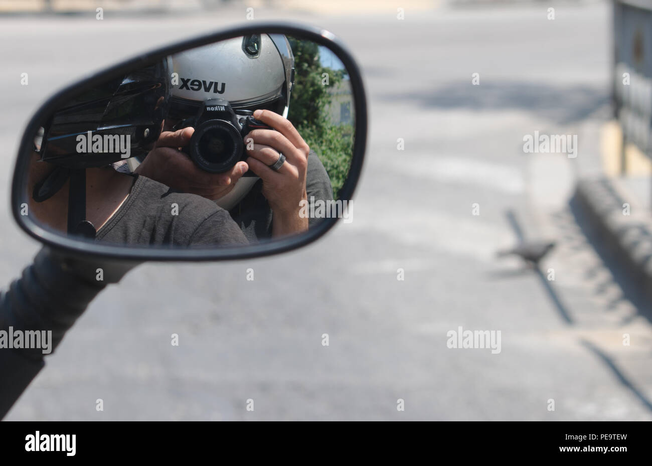 Just a day on skg - Stock Image