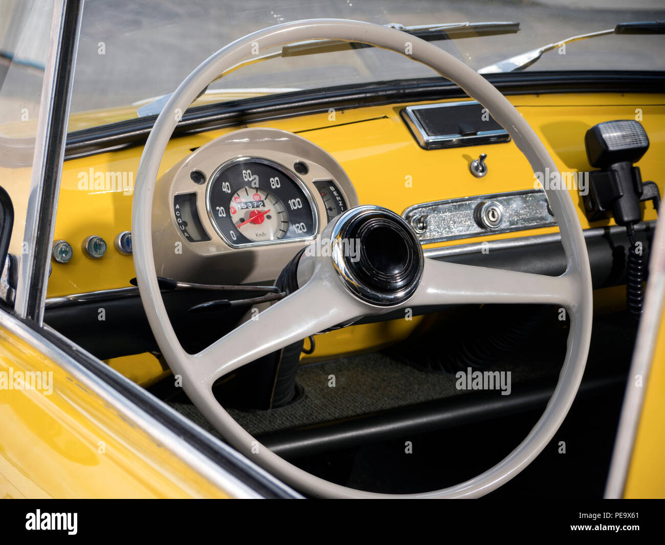 1963 Fiat 600D - Stock Image