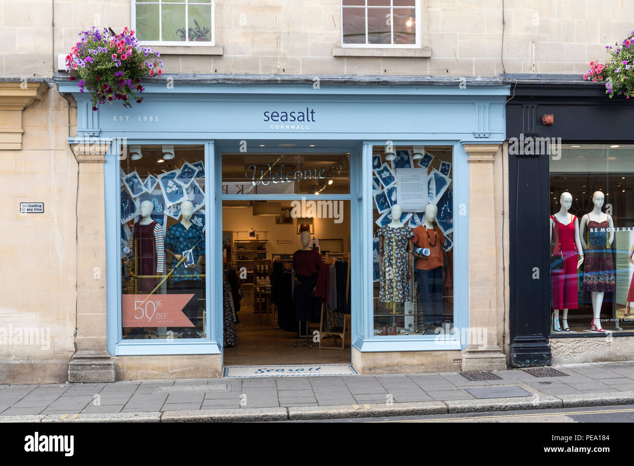 Seasalt Cornwall - Women's clothing store in Bath, England Stock Photo