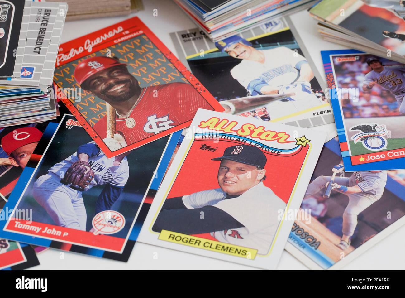 Baseball Card Stock Photos Baseball Card Stock Images Alamy