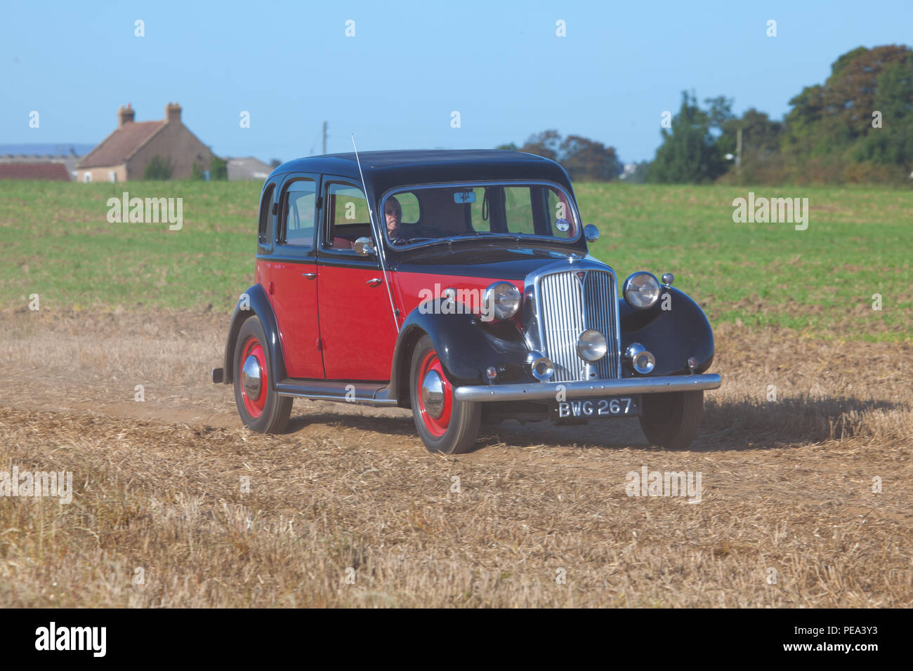 A Classic Rover 75 attending Ainderby Classic Car Show & Ploughing Match in North Yorkshire Stock Photo