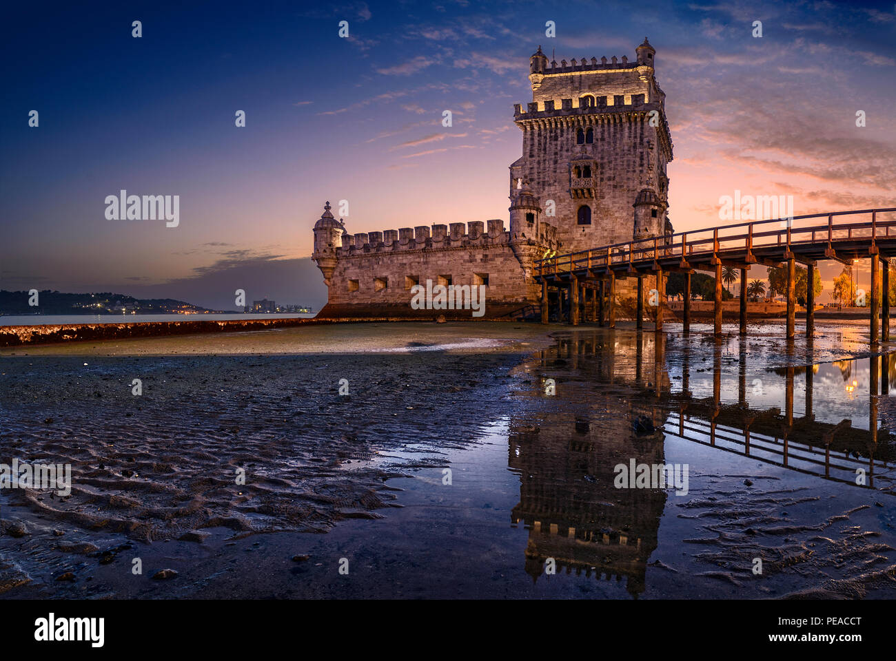 Torre of Belem, Lisbon, Portugal - Stock Image