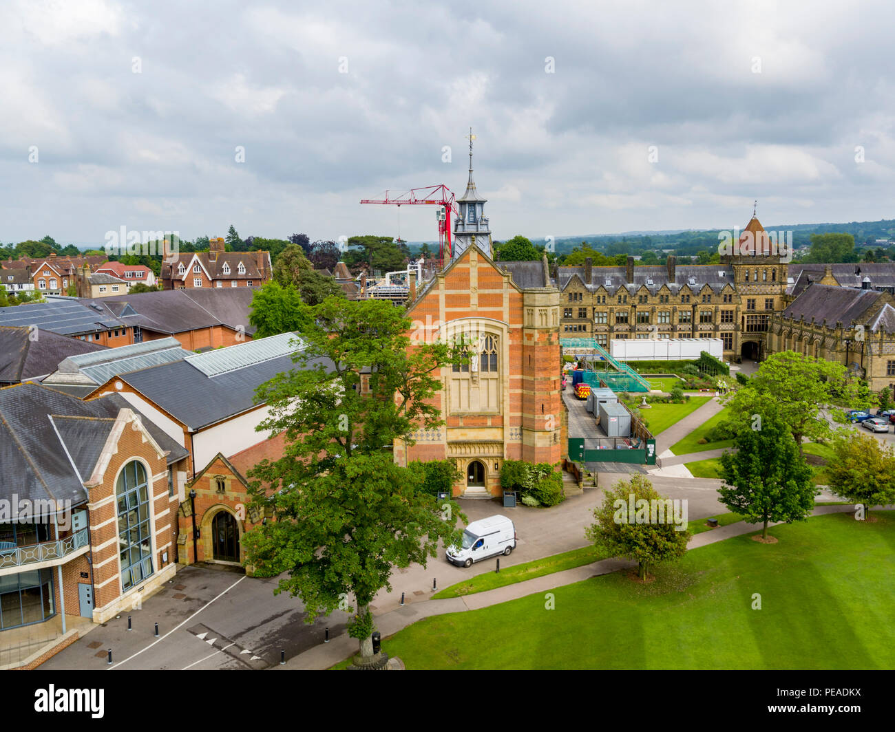 Tonbridge Boys School, Tonbridge, Kent, UK - Stock Image