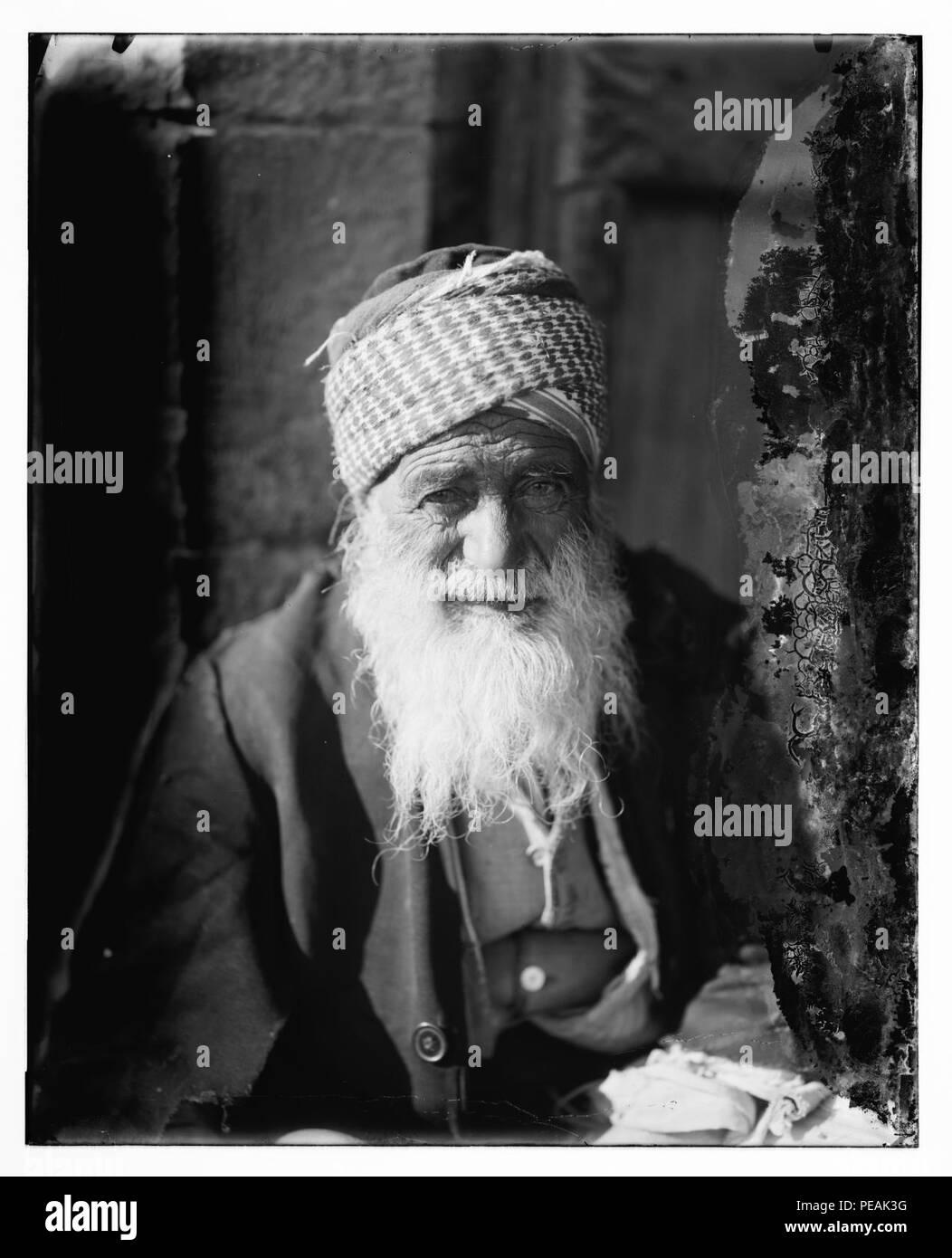 Arab Jew from Yemen - Stock Image
