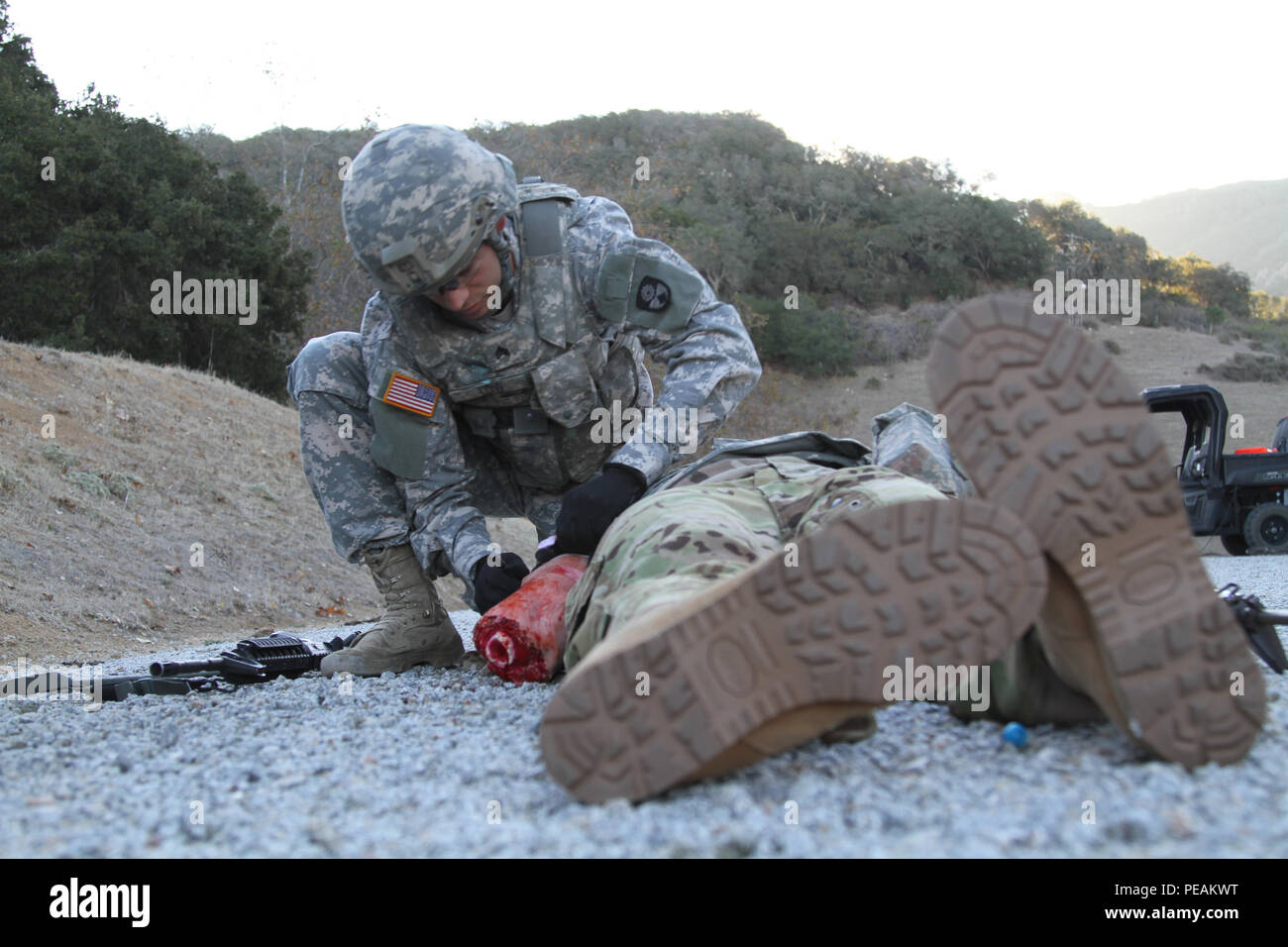 Soldier Straps High Resolution Stock Photography And Images Alamy