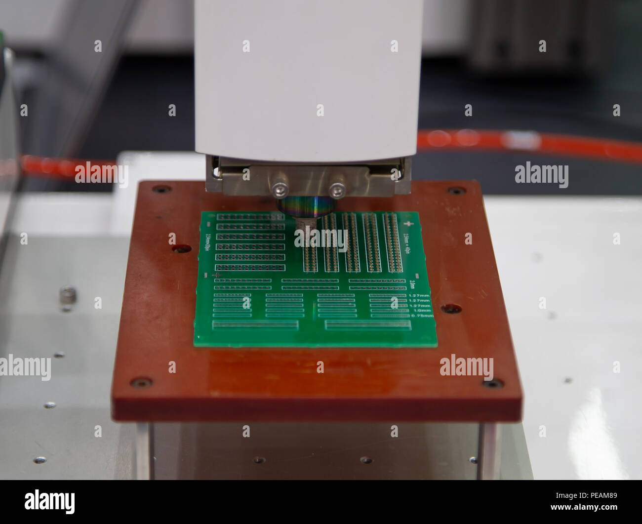 Electronic Component Assembly Stock Photos Board Services Buy Circuit Assemblyelectronic Fully Automated Industry Machine Image