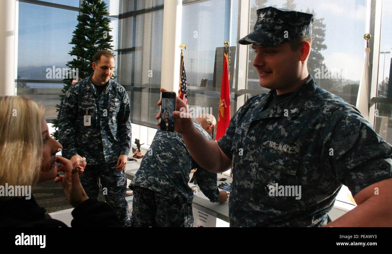It was 'Movember' at Naval Hospital Bremerton's as the month-long