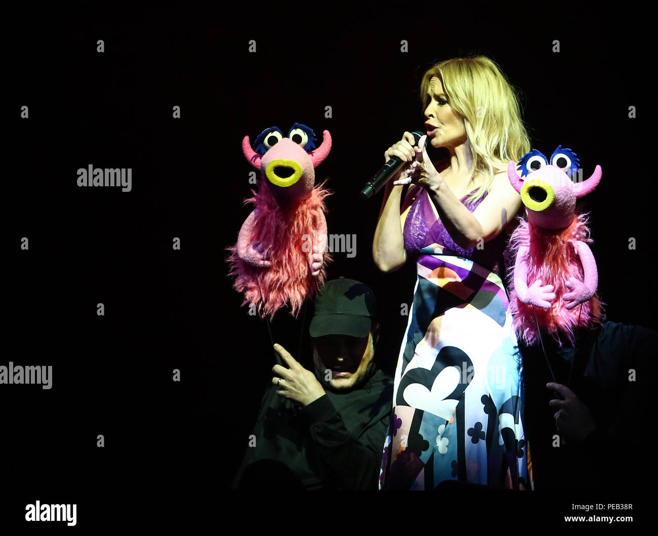 The Muppets take The O2 with a live show Featuring: Kylie