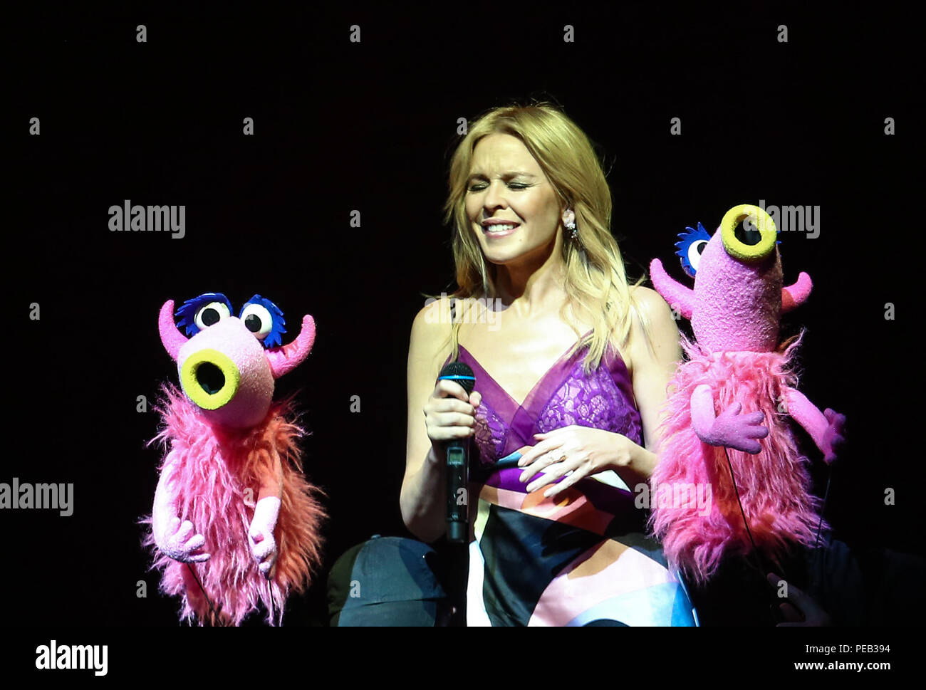 The Muppets Take The O2 Stock Photos & The Muppets Take The