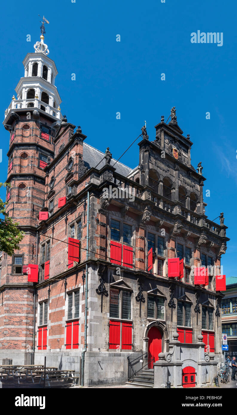 The 16th century Old City Hall (Het Oude Stadhuis), The Hague ( Den Haag ), Zuid-Holland (South Holland), Netherlands - Stock Image