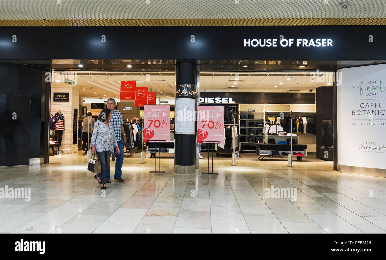 House of Fraser store in Gateshead Metrocentre - Stock Image
