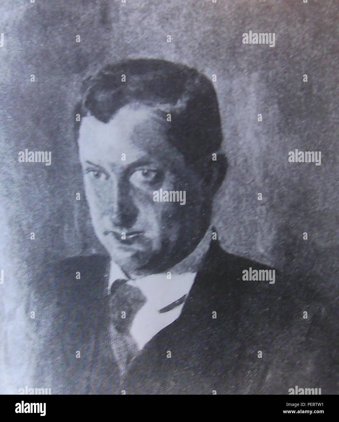 Arthur Kutscher. Stock Photo