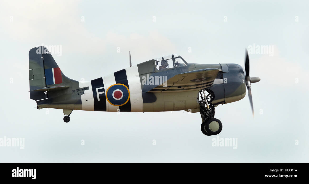 The Grumman F4F Wildcat is an American carrier-based fighter