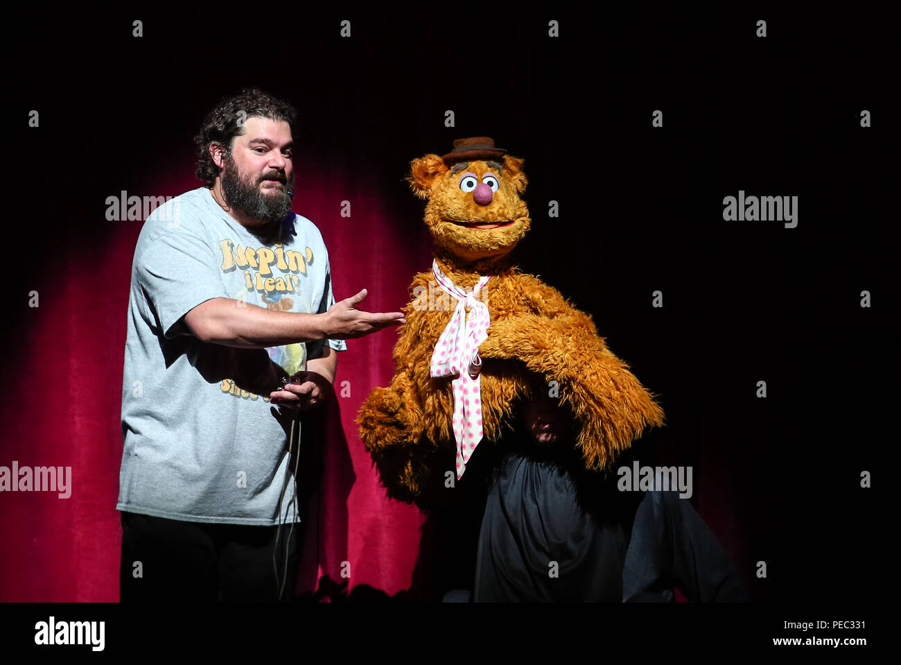 The Muppets take The O2 with a live show Featuring: Fozzie