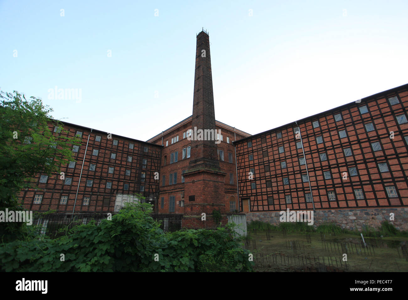Mill Island in Bydgoszcz - Stock Photo