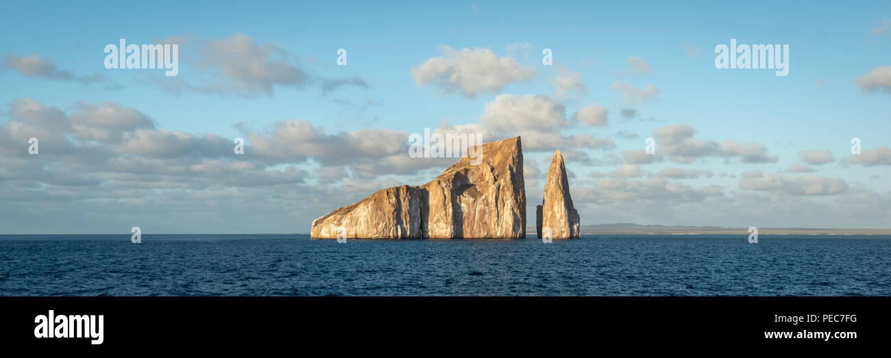Kicker Rock, San Cristobal, Galápago - Stock Image