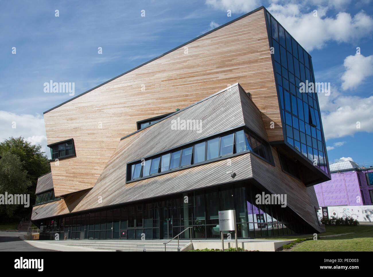 Durham University Ogden center for Fundamental Physics, Durham, County Durham, England, UK - Stock Image