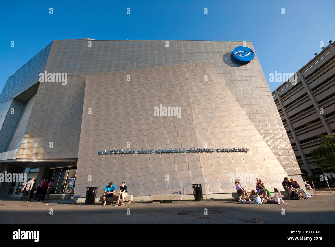 Giving the Simons IMAX Theatre at the New England Aquarium ...
