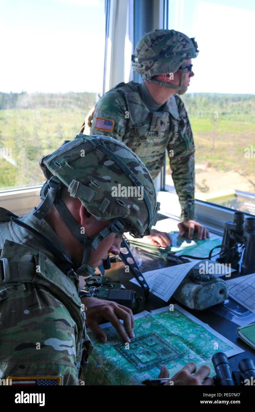 503rd Infantry Regiment 173rd Airborne Brigade Plot Target Location Of Mortars Using Protractors And Maps During A For Fire Training Exercise