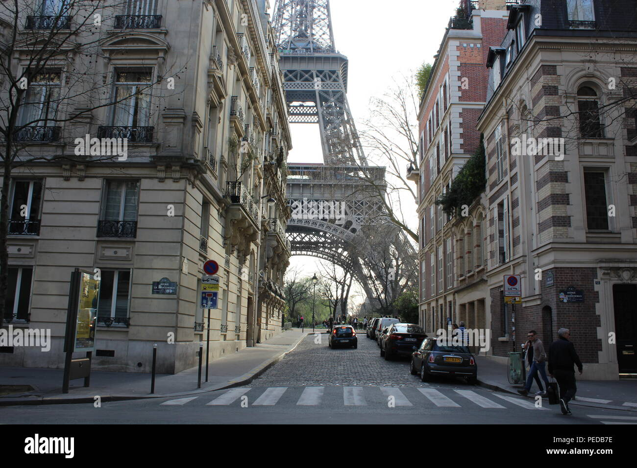 Exploration of the urban environment of Paris - Stock Image