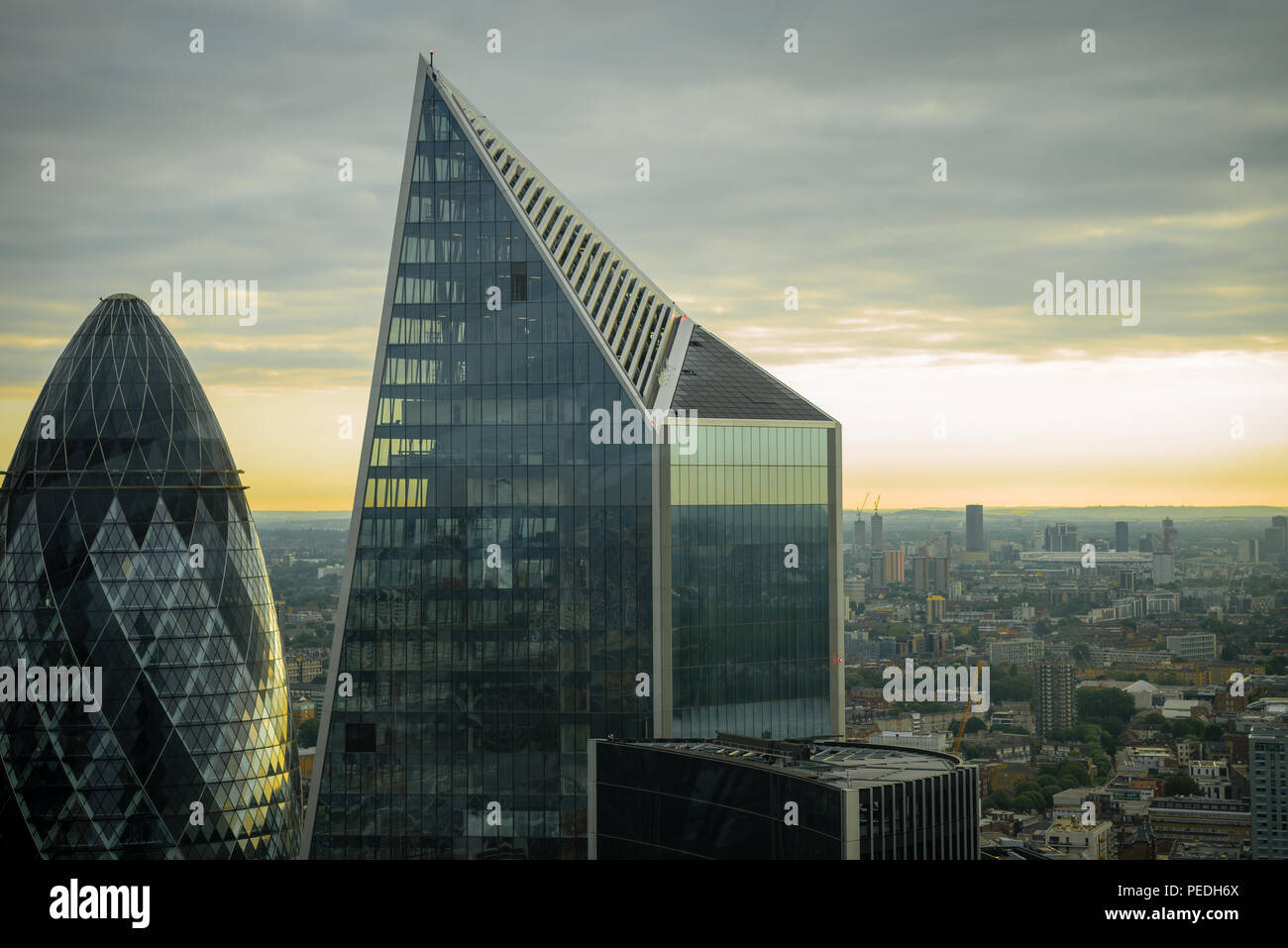 Cityscape in London - Stock Image